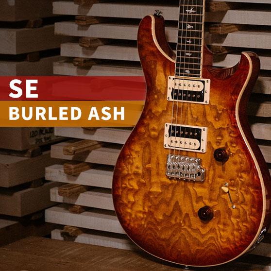 SE Custom 24 Burled Ash