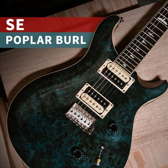 SE Custom 24 Poplar Burl
